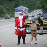 Papai Noel na BR2 150x150 Ações para Humanização do Trânsito e Transporte