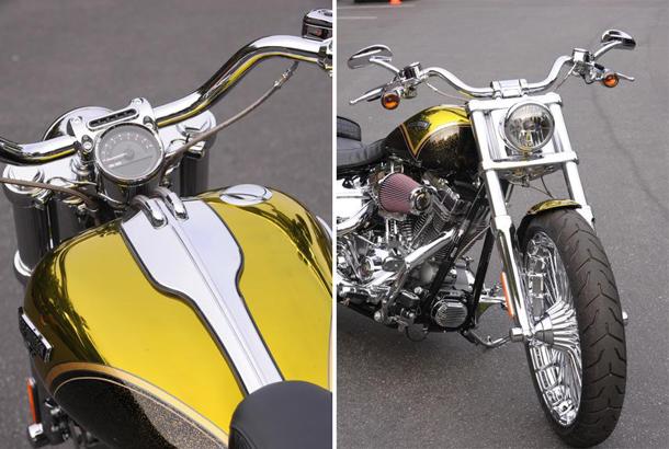 2013 Harley Davidson CVO Breakout 02 H D lança a CVO Breakout 2013 em edição limitada