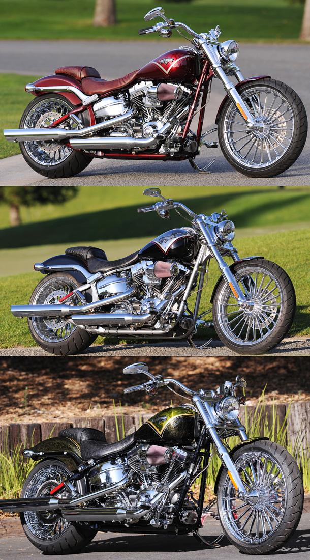 Harley CVO Breakout all3 TR H D lança a CVO Breakout 2013 em edição limitada