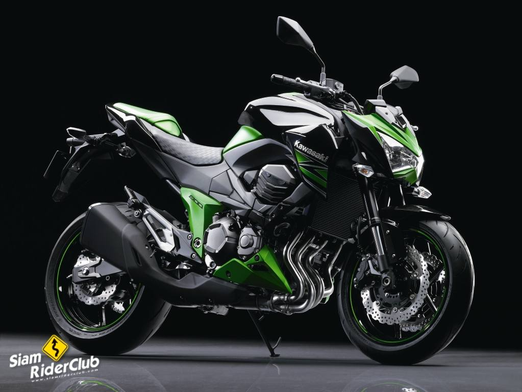 Vazam As Primeiras Imagens Da Kawasaki Z800 2013 Moto