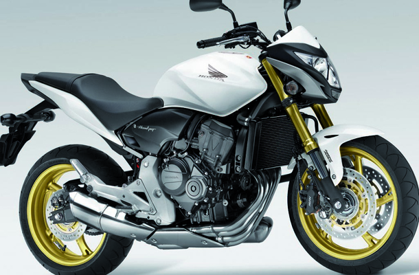 honda cb600f hornet 2013 blanca 01 Honda CB 600F Hornet 2013 e CB 1000R 2013 na cor branca!