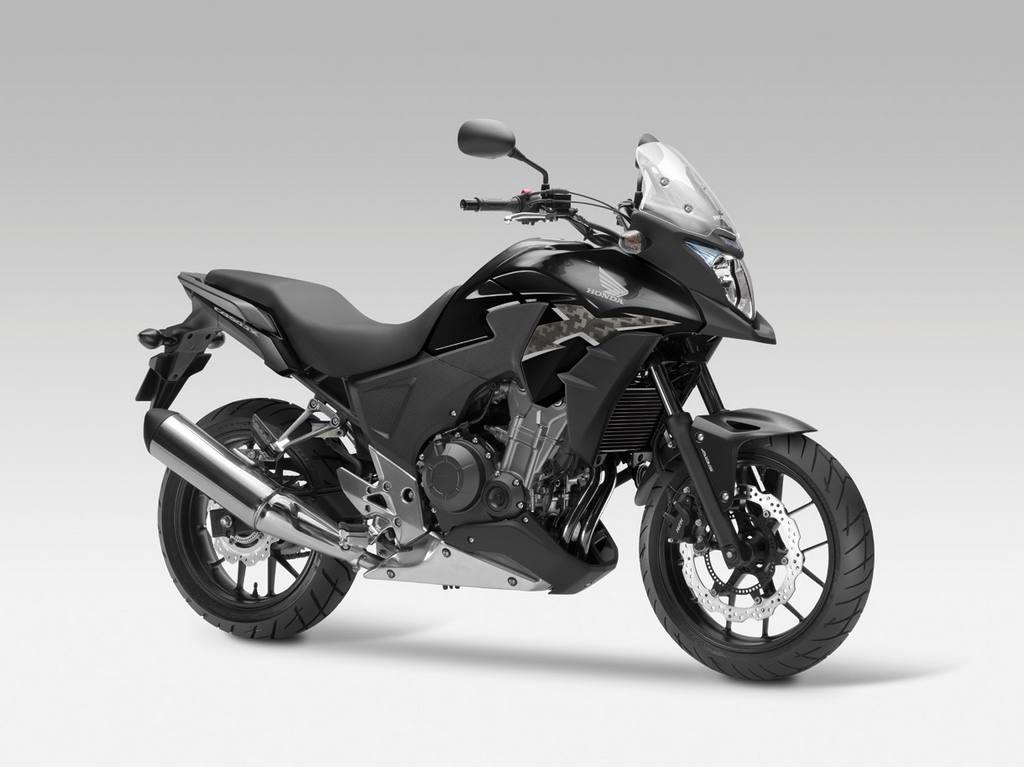 honda cb500x 2013 06 Honda apresenta CB500F, CBR500R e CB500X 2013 na Itália