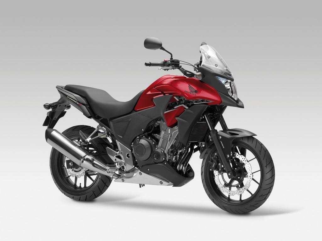 honda cb500x 2013 07 Honda apresenta CB500F, CBR500R e CB500X 2013 na Itália
