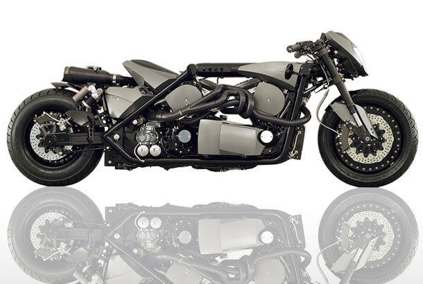 TwinTrax TwinTrax Motorcycle: a moto de dois motores!