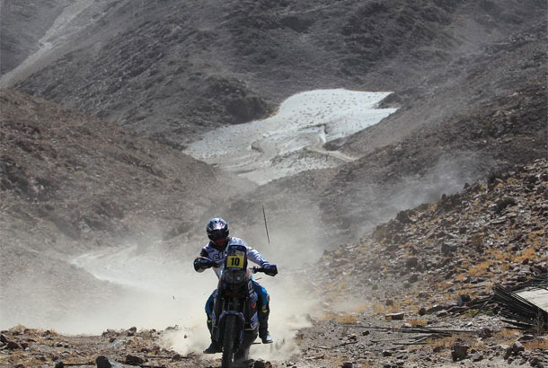 David Casteu Rally Dakar 2013