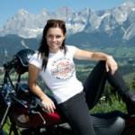 Moto e Mulher – Rainha do gelo e das duas rodas