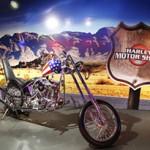 Harley Motor Show exibe modelos antigos