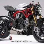 Ducati Panigale 1199 Pierobon por Krax Moto