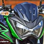 Kawasaki Z300 prova que tamanho não é documento