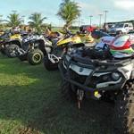 Quadriciclos e UTVs dão show em Bonito
