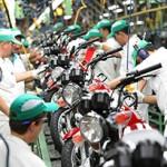 Produção de motos cresceu em agosto