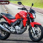 Honda CB Twister chega com tudo novo