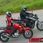Honda CB Twister enfrenta veterana Yamaha Fazer