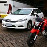 Honda CB Twister Vs Civic: de Campinas a Ribeirão