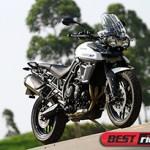 Tiger 800 XR: mais enxuta e acessível