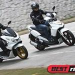 Honda PCX vs. Dafra Cityclass 200i