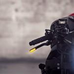 Honda CBR 1000 RR vira uma Street Fighter Sci-Fi