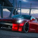 Nissan GT-R mais agressivo com Body Kit Liberty Walk R35