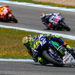 MotoGP 2016: Valentino Rossi em clássico pódio