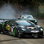 Lamborghini Vs Ford Mustang RTR por Monster Energy