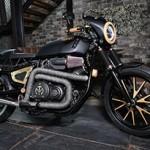 Yamaha XV950 Fine Cut reúne Metal e Madeira