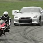 Nissan GT-R VS Aprilia RSV4 Factory