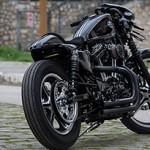 Harley-Davidson Iron 883 Nix: uma sombria cafe racer