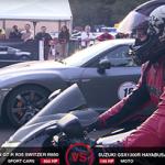 Nissan GT-R VS Hayabusa (2 vídeos DragRace)