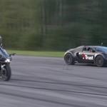 Bugatti Veyron VS Kawasaki Ninja H2