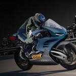Moto elétrica dinamarquesa chega a 300 km/h