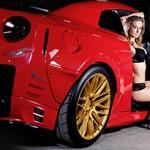 Nissan GT-R e Shannon Whitehead: sutil e voraz