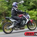 Honda CB 650F repete o sucesso da Hornet?