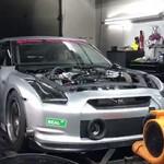 Nissan GT-R com 3000 cv busca recorde de 6s em 1/4 de milha