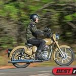 """Motos Royal Enfield pregam """"motociclismo raiz"""""""