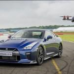 Nissan GT-R 2017 VS GT-R Drone