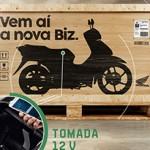 Honda Biz 2018 será mostrada no Salão Duas Rodas
