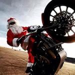 Um feliz Natal aos pilotos, com direito a Papai Noel Freestyle