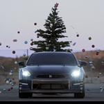 Nissan GT-R VS Árvore de Natal