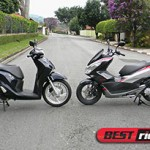Duelo de scooters Honda: PCX vs. SH 150i