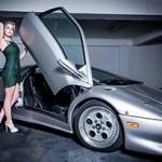 Lamborghini Diablo VT 1995 e a bela Wendy VR