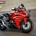 Diga tchau a Honda CB500R