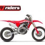 Novas Honda CRF de competição, renovadas para 2020