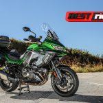 Kawasaki Versys 1000 GT tem tecnologia e conforto para viajar, no asfalto