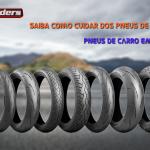 Cuidados com os pneus de sua moto e a utilização de pneus de carro em sua moto