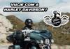 Viaje com a Harley Davidison