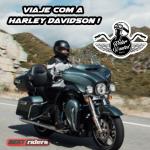 Procura-se um motociclista para compor a equipe Harley Davidson em uma viagem dos sonhos pelo Brasil