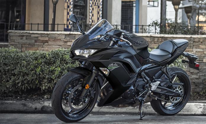 Lançamento Ninja 650 2021