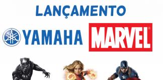 YAMAHA HERÓIS DA MARVEL