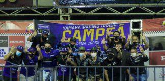 Yamaha é Campeã do Arena Cross e conquista a Tríplice Coroa em 2020