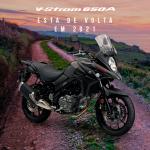 Novas Cores da V-STROM 650A 21/22